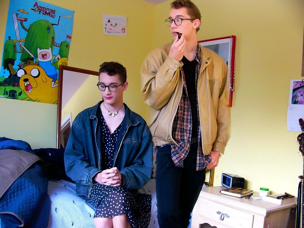 """""""Ignorance of Bliss,"""" featuring alumnus Sam Kendall, won a National Gold Key.  Howard said, """"It focuses on being closeted, especially to yourself."""""""