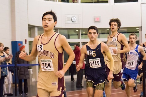 Boys' track struggles with injuries