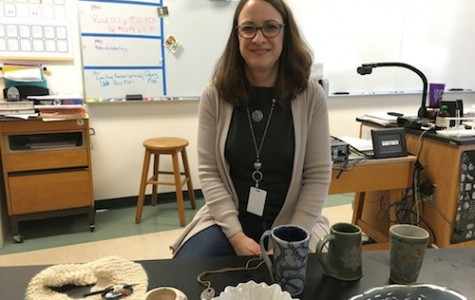 Chemistry teacher pursues pottery