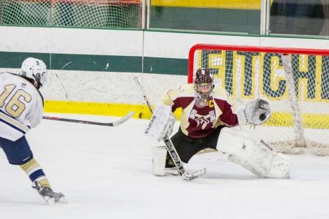 Boys' hockey defeats Shrewsbury to play in Central Mass finals