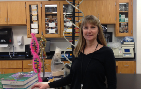 Biophysicist trades lab for classroom