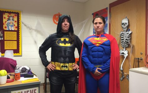 Students, staff spook school with costumes