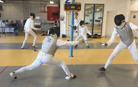 FenciNg is the life for sophomore Ng
