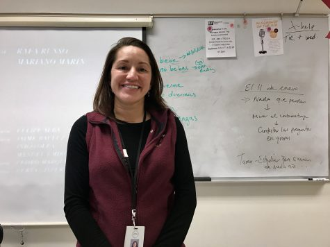 Steele's Spanish roots inspire students