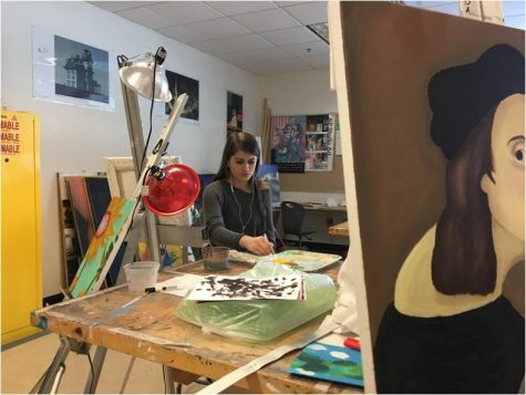 Acrylics, watercolors, oils: explore Algonquin's art classes