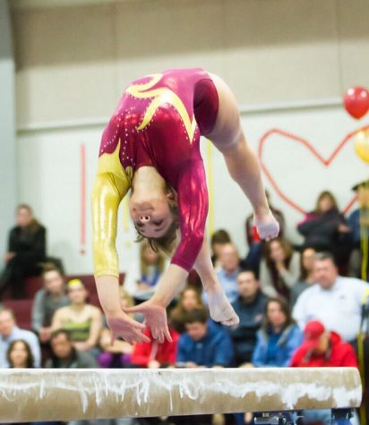 Girls' gymnastics flips through season with impressive record