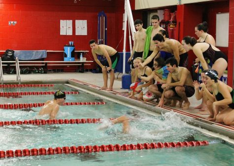 Girls', boys' swim teams dive into Sectionals, States