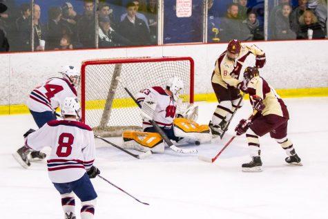 Boys' hockey makes strides with new coach