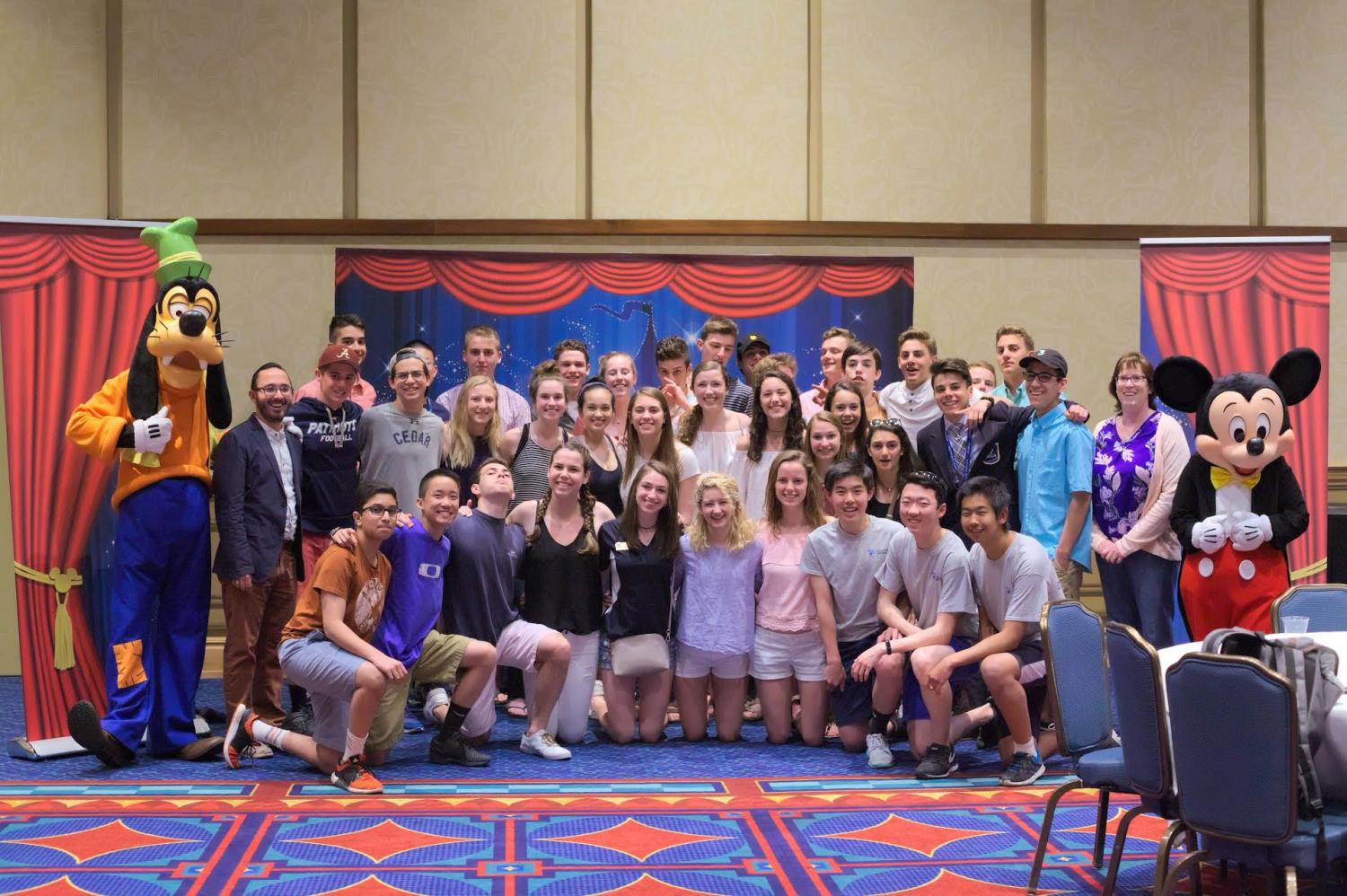The 37 ICDC qualifiers take a trip to Anaheim, California to compete, and also got to stop in Disneyland.