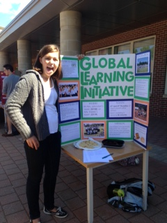 Elizabeth Wig from global learning initiative says to join to help the environment.