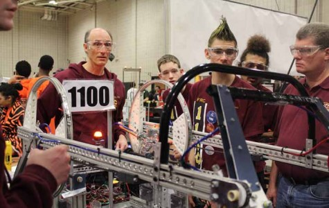 Robotics Team 1100 triumphs in competitions