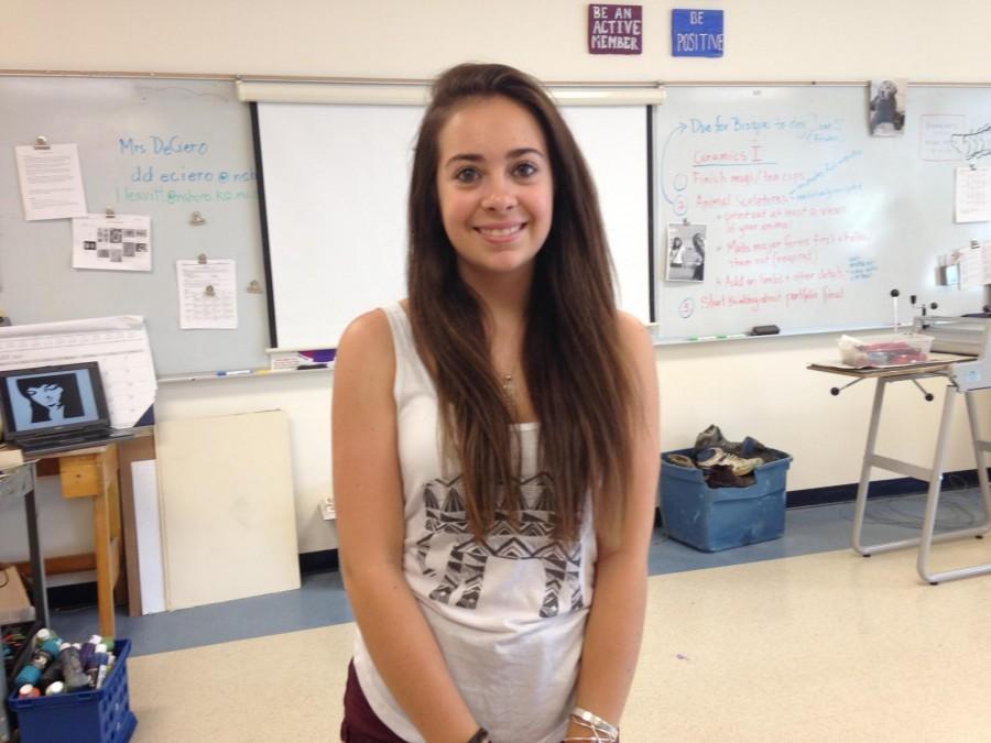 Random Thursday: Freshman Sorine Cvitkovich