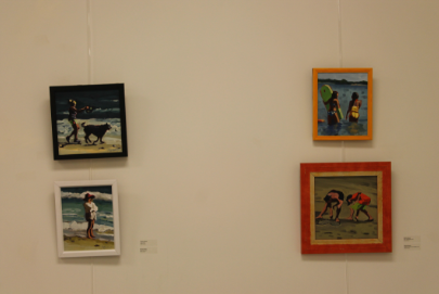 The artwork of Joyce Caras and Marsha Gleason was showcased on September 21st.