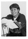 Physical education teacher Melissa Fustino in her 2000 yearbook photo.