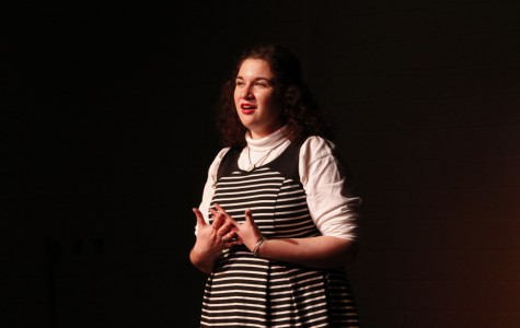 VIDEO: Senior Hannah Moran wins Poetry Out Loud finals