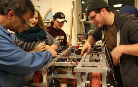 VIDEO: Robotics Team 1100 divides, conquers 'Stronghold'