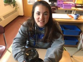 Freshman Monday: Mia McAuliffe