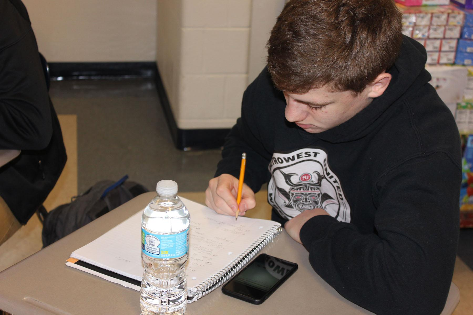 Students spend the ten minutes provided by homeroom and the associated passing time to study, interact socially, and complete homework assignments.