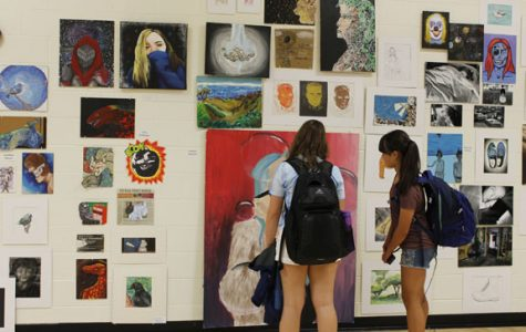 Annual Art Show displays year's worth of student work