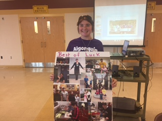 CAP graduate Anderson celebrates years at Algonquin, excited for future