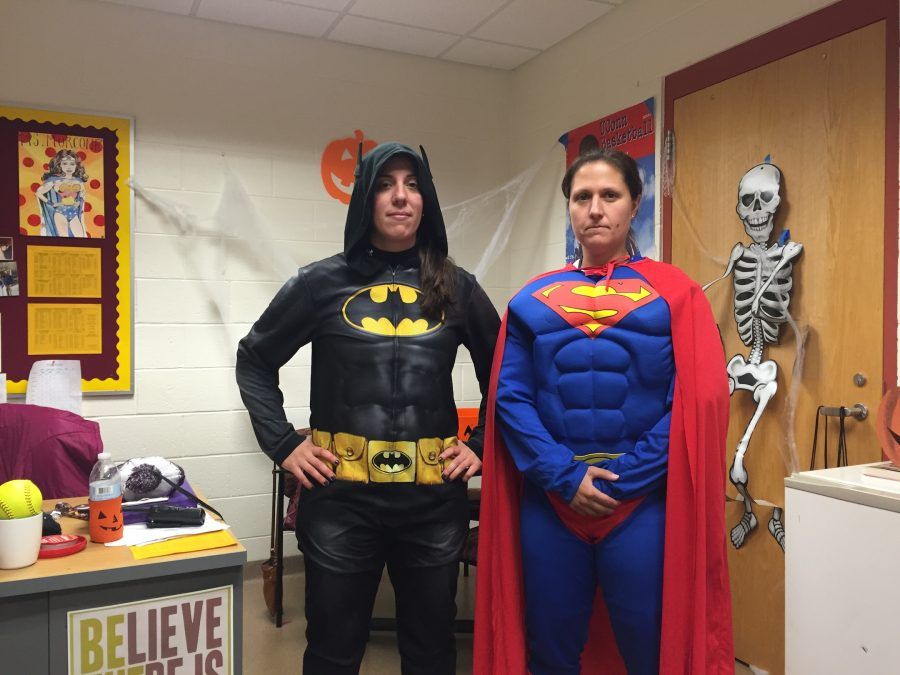 Students Staff Spook School With Costumes The Algonquin Harbinger