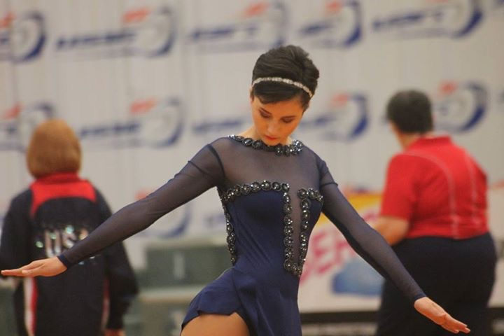 Sophomore Gabbie Permatteo competes in roller skating at the global level, recently placing sixth in the world circle skating competition in Italy. Permatteo's event is called