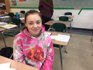 Freshman Monday: Sarah Middleton
