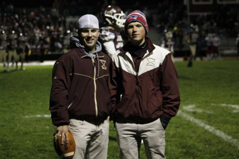 Making football history: First student co-managers O'Leary, Hatton create positive impact on field