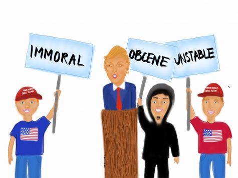 Trump reveals societal issues, lack of morals