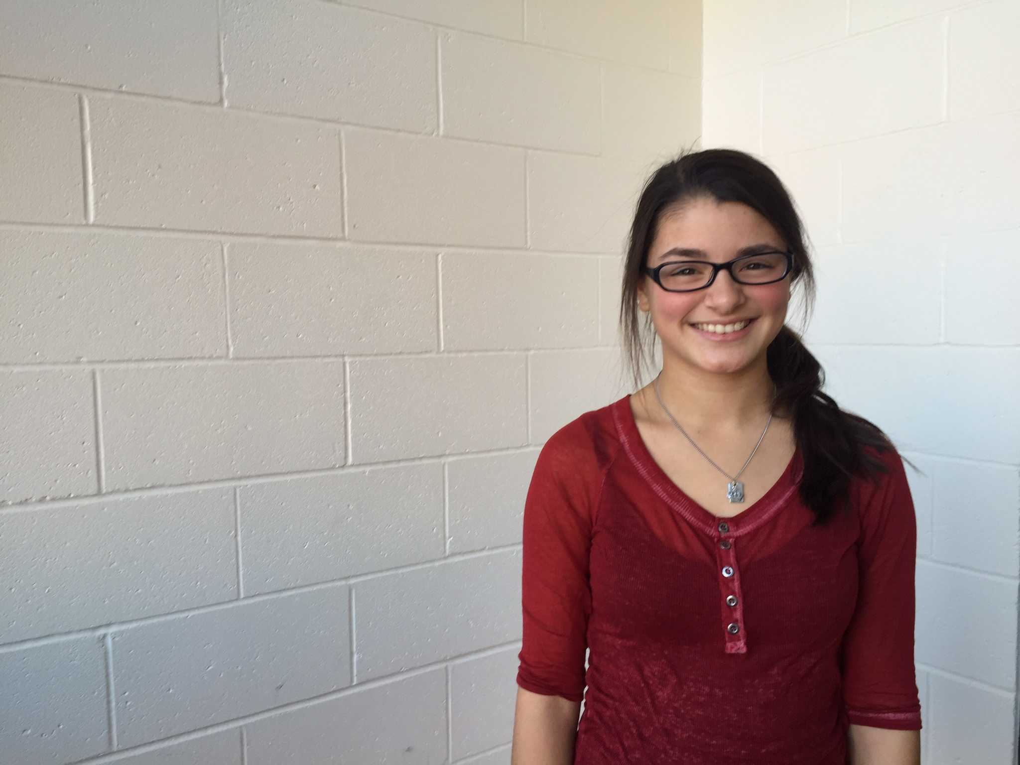 Senior Selena Safiol will graduate early in order to commence her mission trip.
