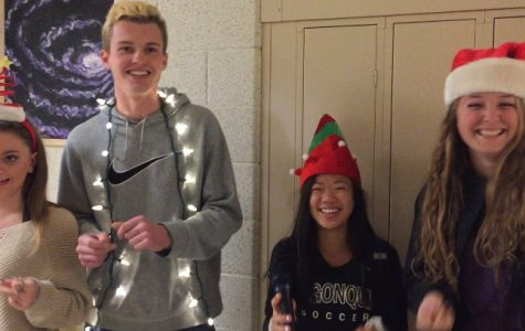 VIDEO: Students, faculty share holiday spirit
