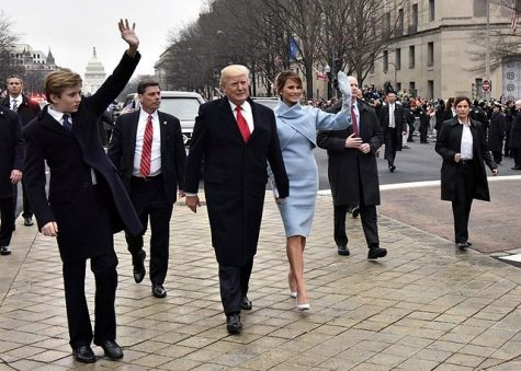 President Trump's inauguration evokes differing reactions from students who attended