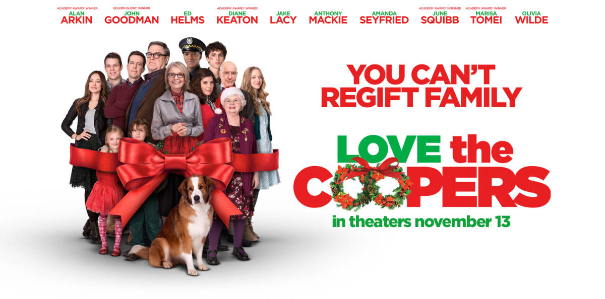 "REVIEW: ""Love the Coopers"" offers funny, touching family flim – THE ..."