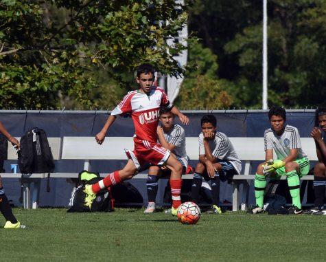 Burns scores selective spot on Revolution Academy Team