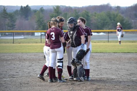 Girls' softball has rough start, hopes to improve with practice