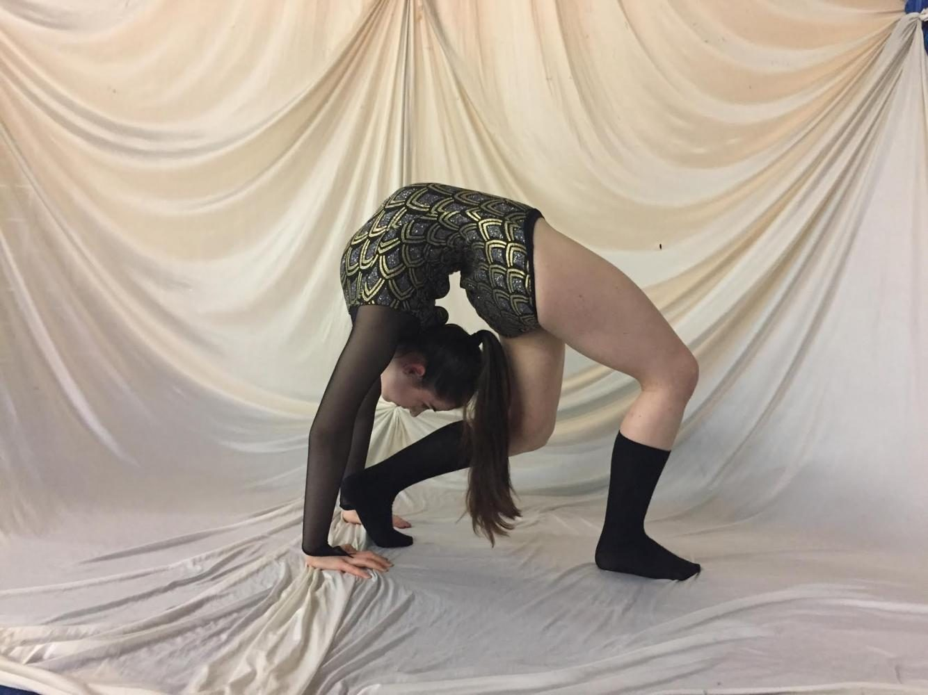 Lapidas twists her way into finding passion for contortion