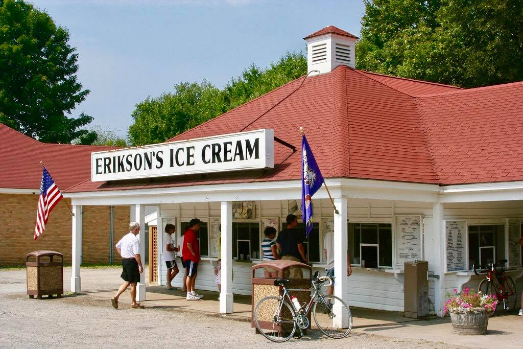 Erikson%27s+Ice+Cream+serves+as+a+perfect+treat+on+a+warm+sunny+day.+