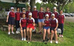 Girls' golf swings into success