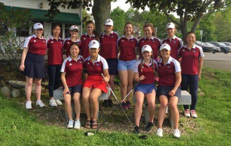 Girls' golf swings into success