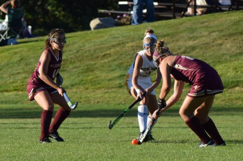 Girls' field hockey finds success through new motto of team camaraderie