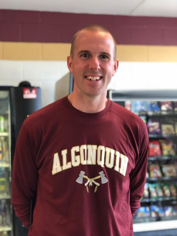 Previously+a+physical+education+teacher%2C+assistant+principal+Andy+McGowan+hopes+to+utilize+his+new+position+to+make+improvements.
