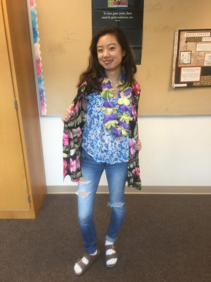 Senior Jessica Yin