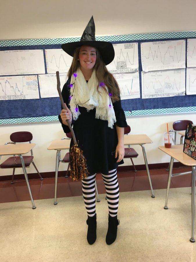 Senior Amanda Carroll