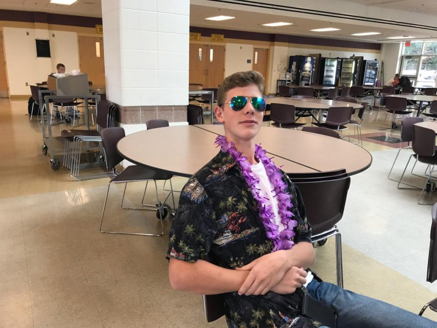 Freshman John Parks