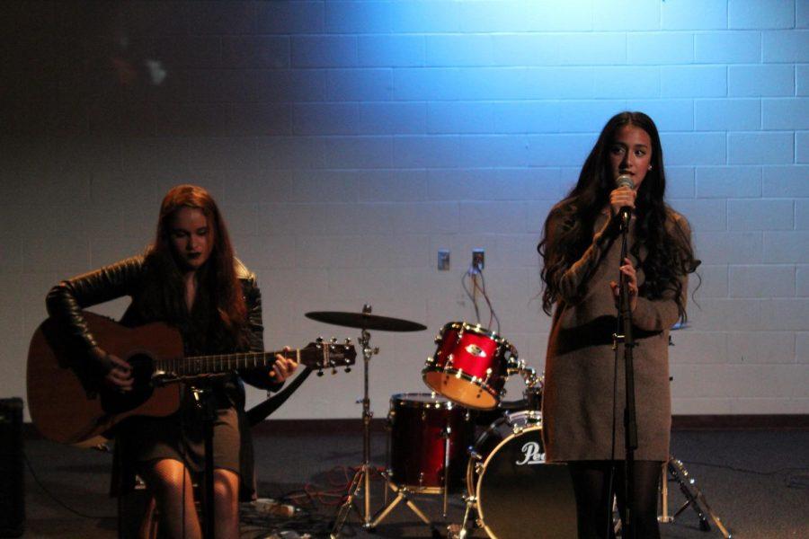 Sophomores Alex Ziada and Amanda Benatuil
