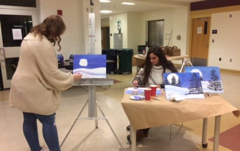 Gallery of the Boroughs hosts Paint Night