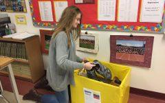 Hoskins organizes shoe drive for Venezuelan children