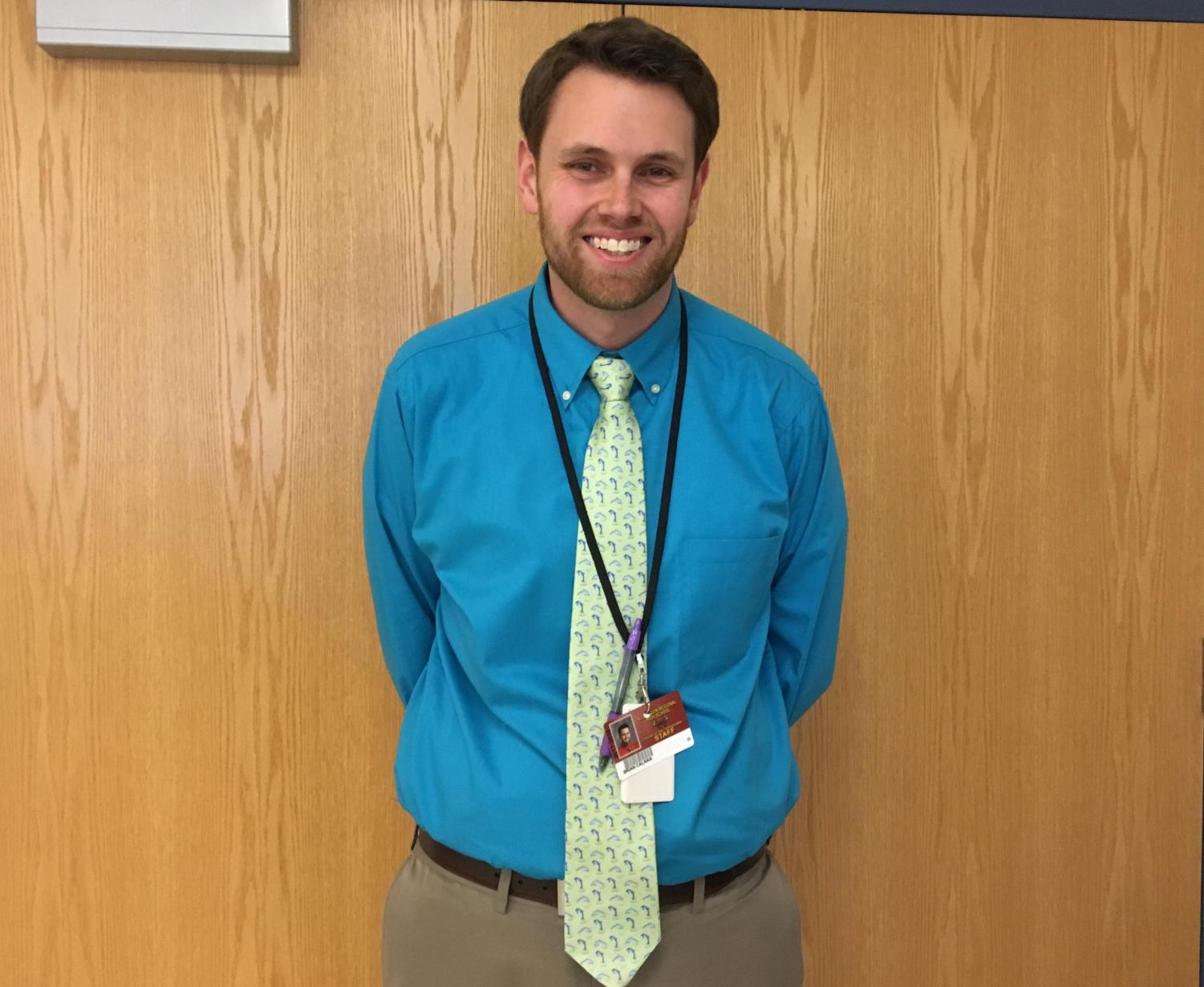 Math teacher Brian Calnan joined the Algonquin tech team, hoping to promote technology use in the classroom.