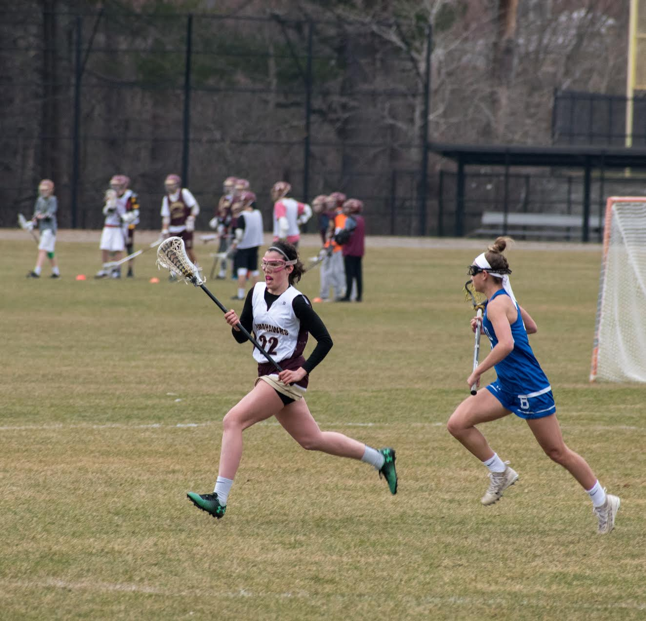 Girls' lacrosse has high hopes for the coming season by focussing on team dynamic.