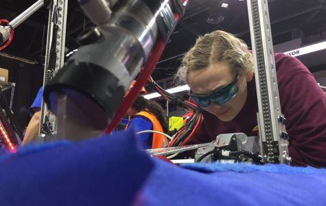 Robotics team powers up to world championship